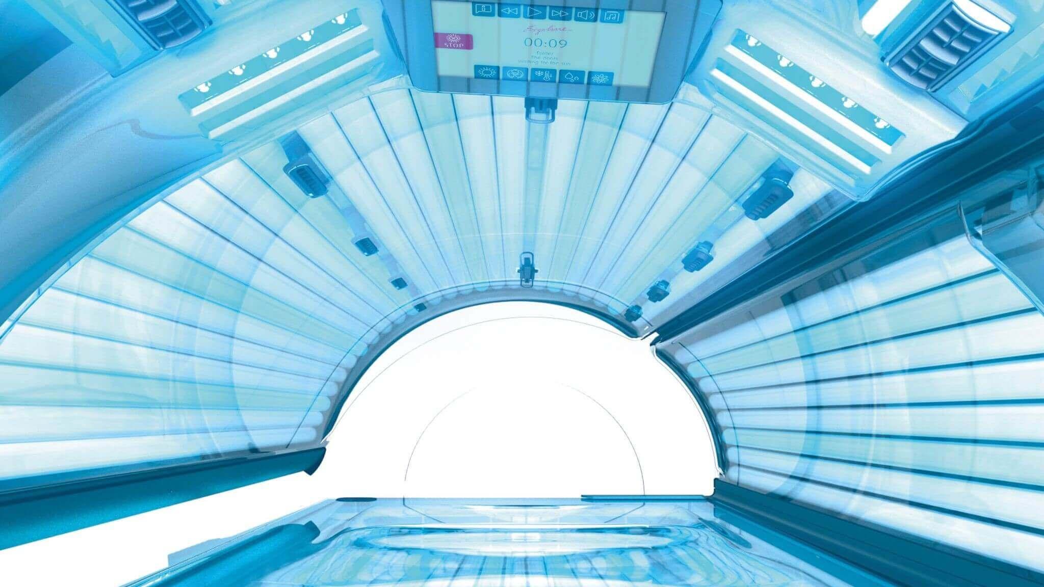 Tunel Ergoline Prestige Bluevision