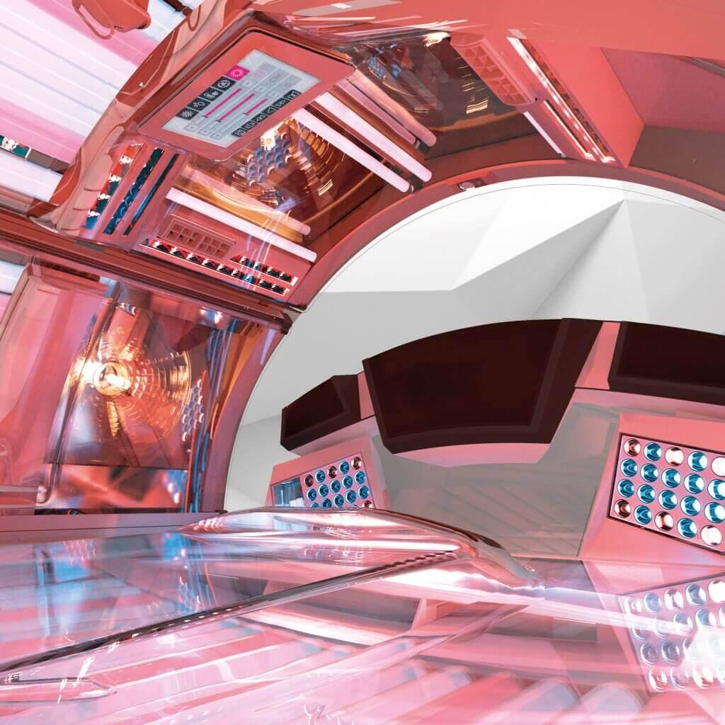 Tunel Ergoline Prestige Lightvision