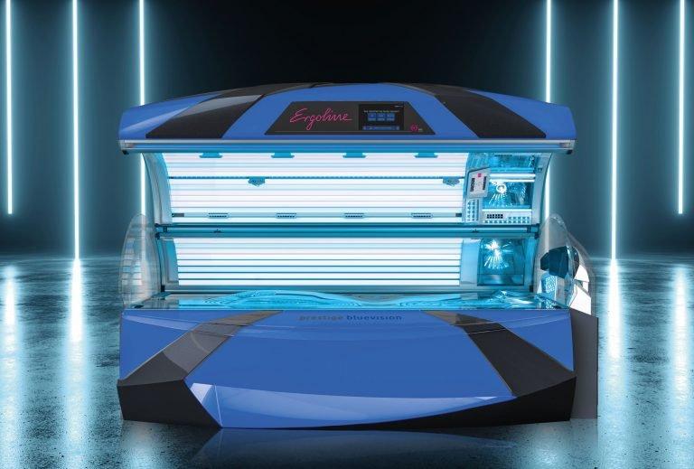 Otvorené solárium Ergoline Bluevision Spectra